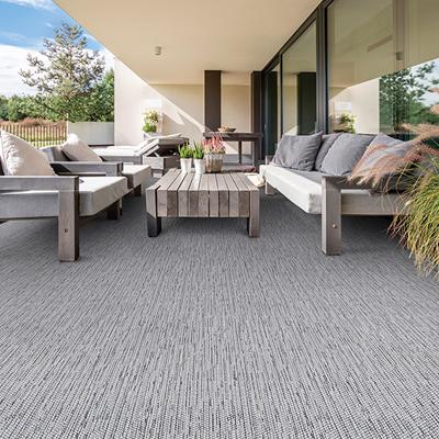 light grey outdoor rug