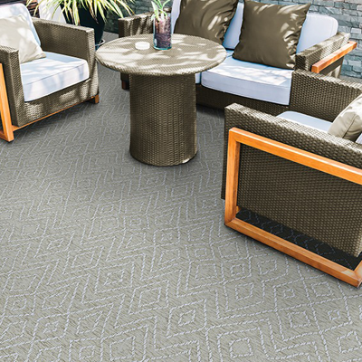 tan outdoor rug