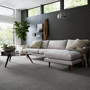 dark grey luxury carpet