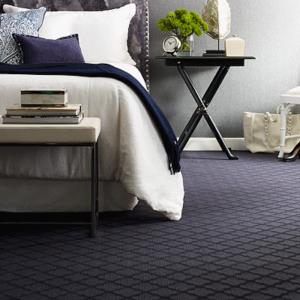 navy pattern luxury carpet