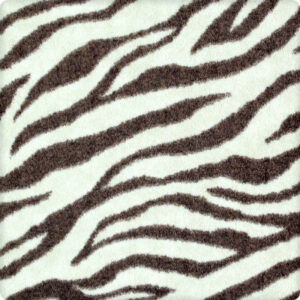 native zebra area rug