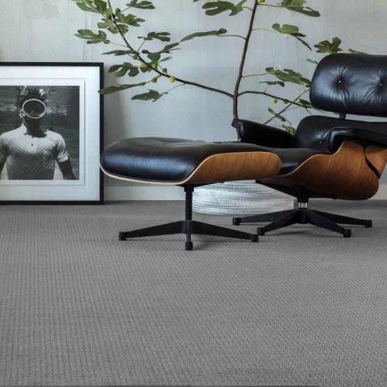 grey carpet in living room
