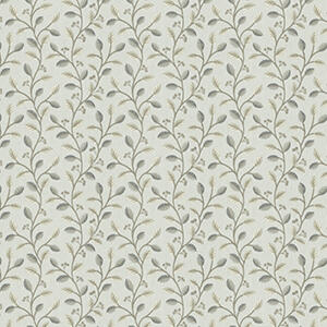 small floral pattern fabric swatch