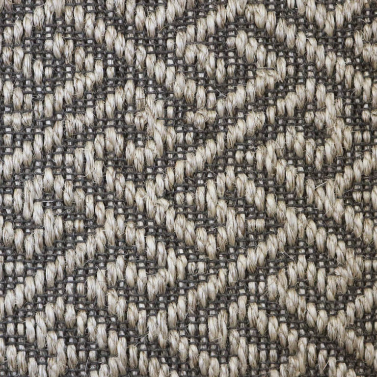 warm grey pattern sisal swatch