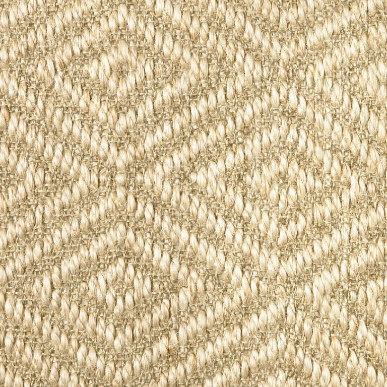 diamond pattern sisal swatch