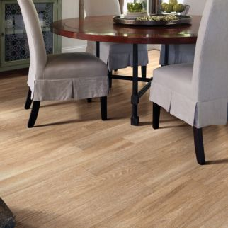light brown luxury vinyl plank flooring