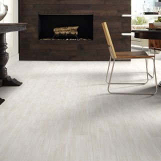 pale grey luxury vinyl plank flooring