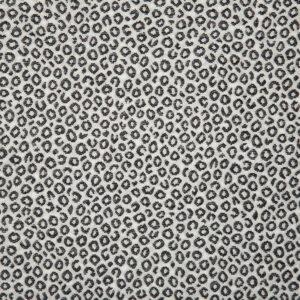ebony animal print fabric swatch