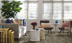 laminate flooring in living room
