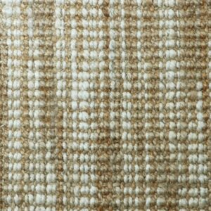 tan and white jute swatch