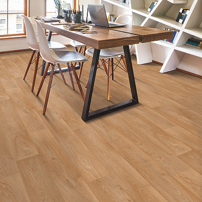 brown sheet vinyl flooring