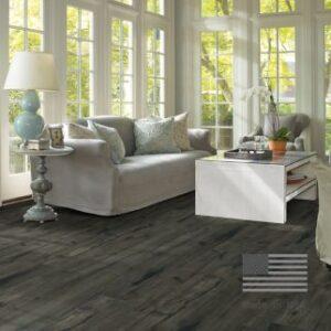 dark wood tone laminate flooring