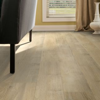 light brown laminate flooring