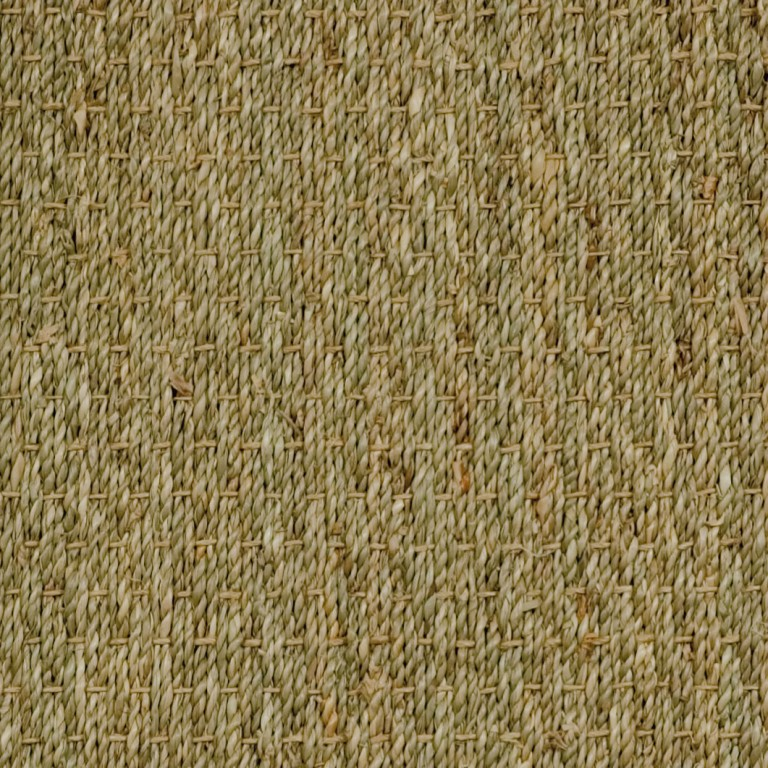natural seagrass swatch