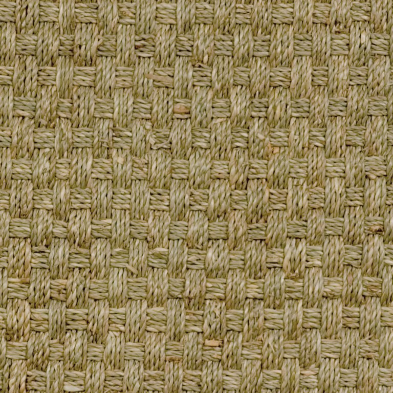 natural seagrass swatch basketweave