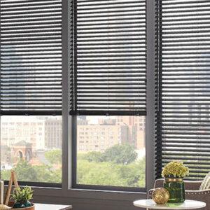 dark brown blinds