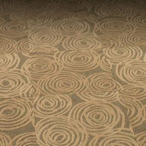 swirl pattern carpet tile