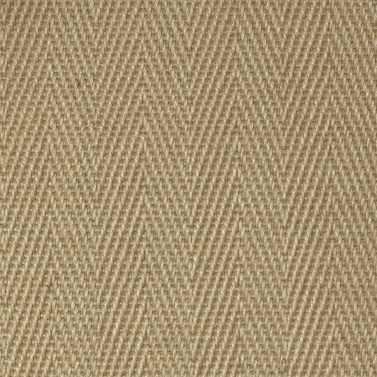tan chevron pattern colored jute swatch