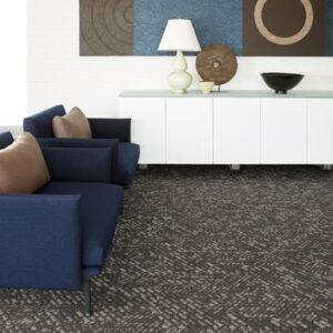 dark grey carpet tile office
