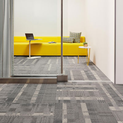 grey pattern carpet tiles