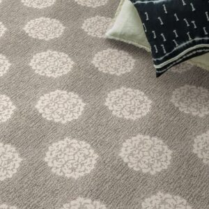 heirloom pattern synthetic carpet