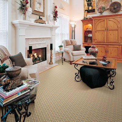 tan indoor/outdoor rug