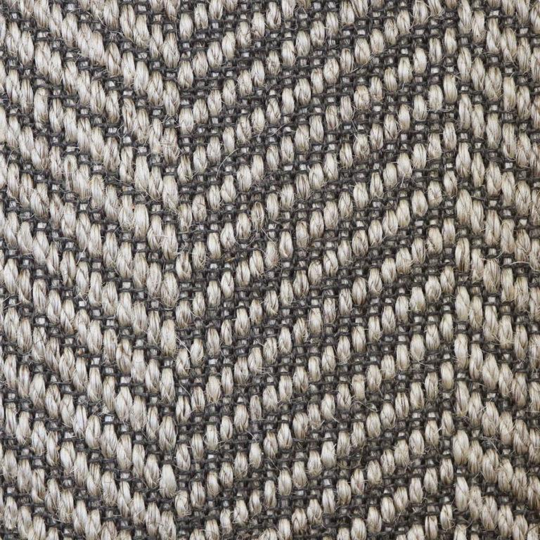 warm grey pattern sisal swatch