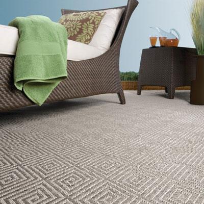 brown pattern indoor/outdoor rug