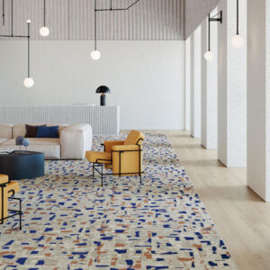 pattern commercial carpet contemporary room