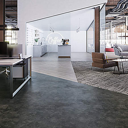 dark grey resilient floors