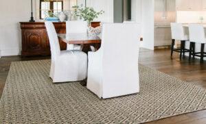 sisal pattern area rug