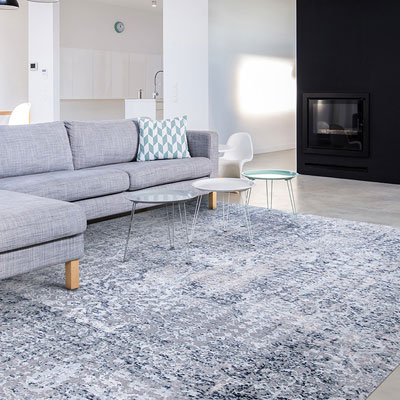 grey pattern area rug