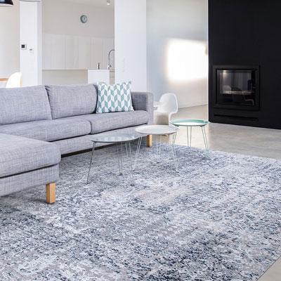 grey pattern area rug