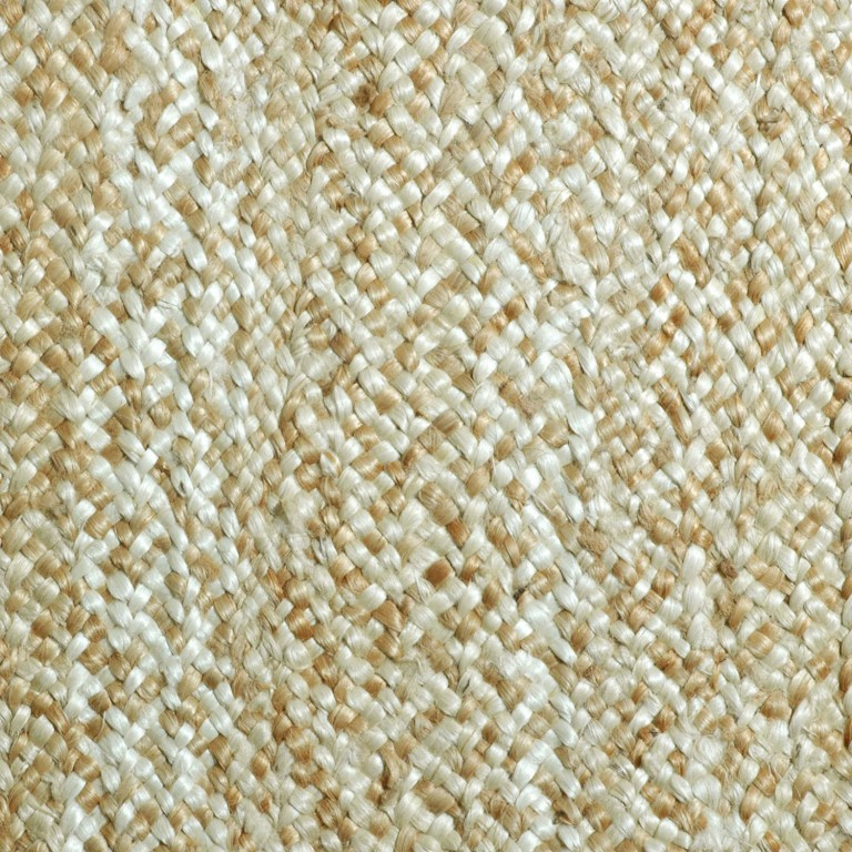 cream colored jute swatch