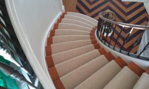 tan stair runner