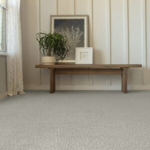 wall to wall carpet with subtle pattern
