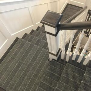 pin stripe stair runner